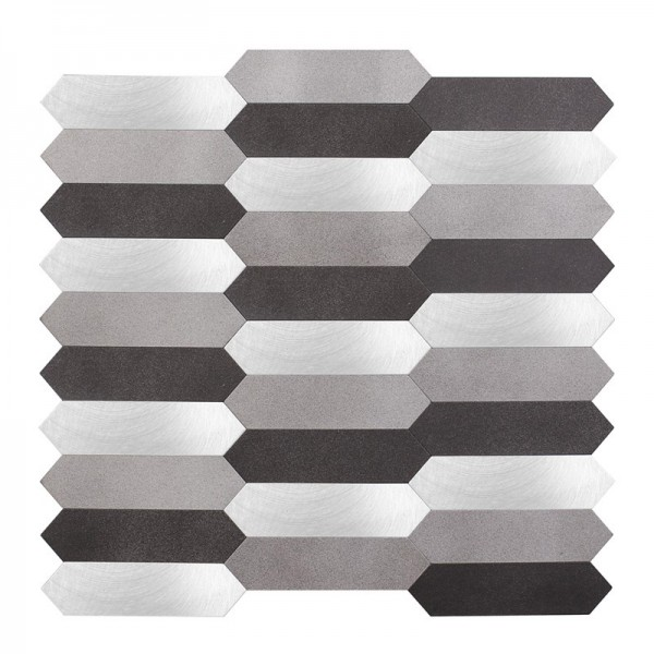 Self Adhesive Aluminum Composite Panels For kitchen and bathroom Hexagonal Fan Shaped Panel 4mm