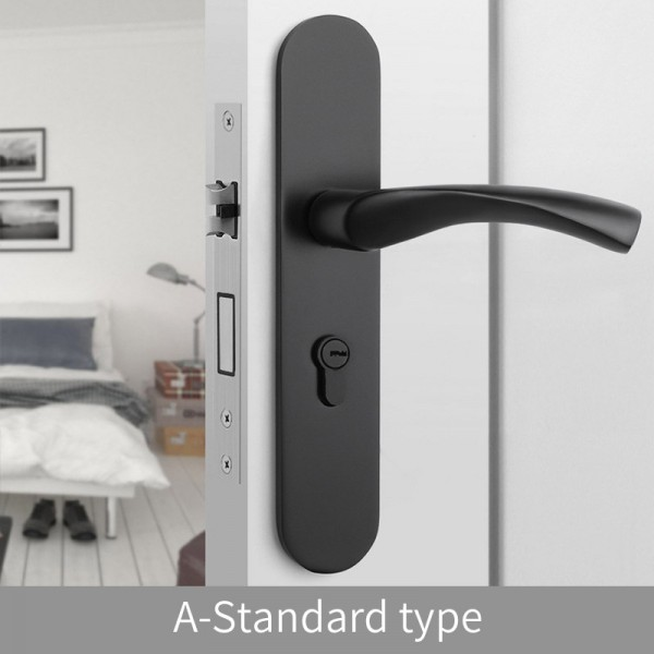 Magnetic Door Lock  A-Standard type black