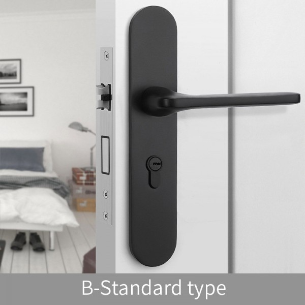 Magnetic Door Lock B-Standard type black