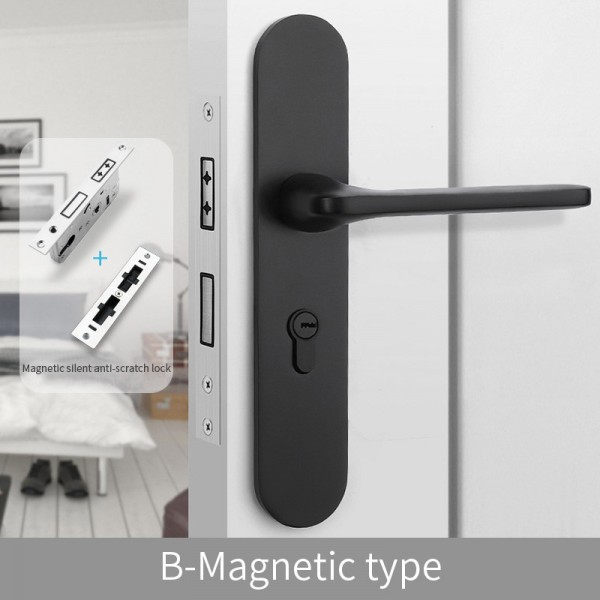 Magnetic Door Lock B-Magnetic type black