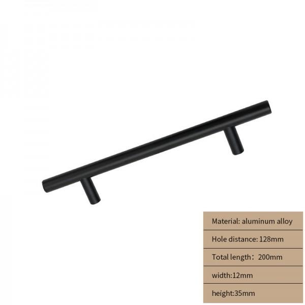 Metal Cabinet handle  black long 200cm