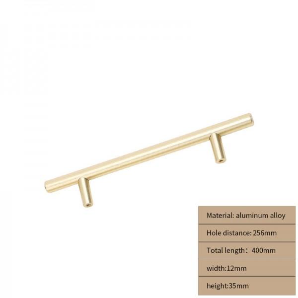Metal Cabinet handle gold long 400 cm