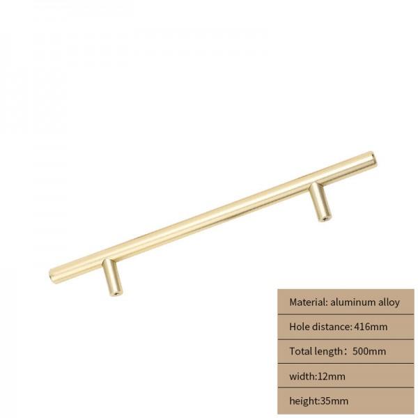 Metal Cabinet handle gold long 500 cm