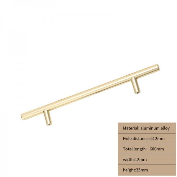 Metal Cabinet handle gold long 600 cm