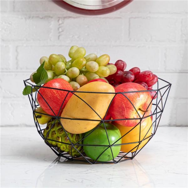 Black Largesize ten aniseed fruit basket