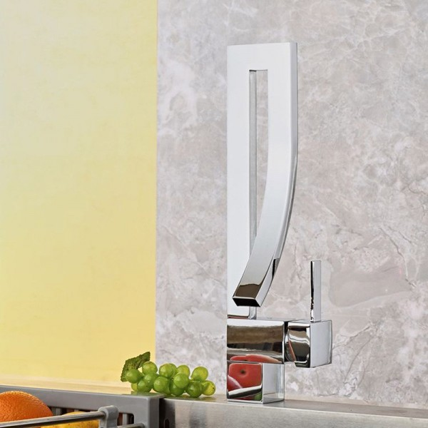 Waterfall Taps Kitchen Faucet Cold And Hot Water Tap