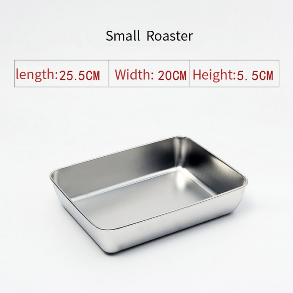 Stainless steel Roaster (Small)