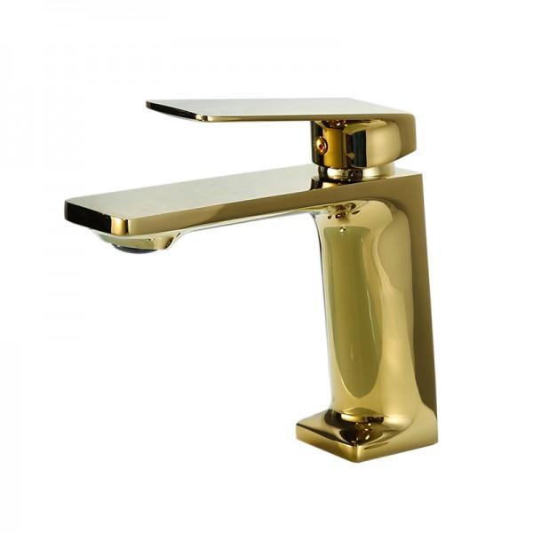 Gold Osani 1 lever  Contemporary Basin Mono mixer Tap