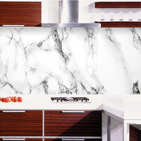 Waterproof self adhesive wallpaper Bianco Statuario Marble
