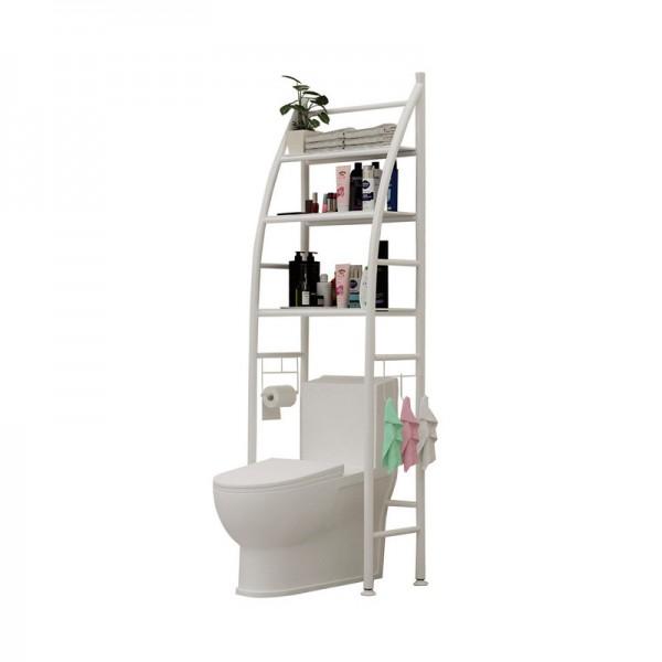 Toilet shelves Toilet Towel Storage Rack Holder Over Bathroom Shelf Organizer Toilet Storage Shelf for Store Shampoo/Towel Tissue